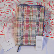 Coach Daisy Madras Ereader Case Nwt F21919 Foripadskindle & Nook Photo