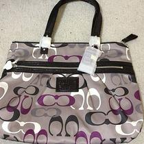 Coach Daisy Optic Print Tote Photo