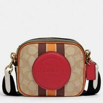 Coach Dempsey Camera Bag in Signature Jacquard With Stripe and Patch  Photo