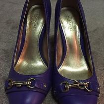 Coach Desaree Purple Violet Heel Photo