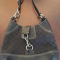 Coach Designer Cloth/leather Shoulder Bag Photo