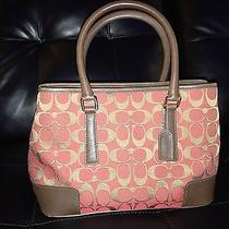 Coach Designer Leather Handbag Photo