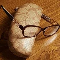 Coach Designer Nonprescription Stylish Glasses With Case Included Nice See Pics Photo