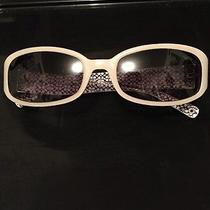 Coach Designer Sunglasses White Heart Rare Classy Photo