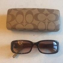 Coach Designer Sunglasses With Case Photo