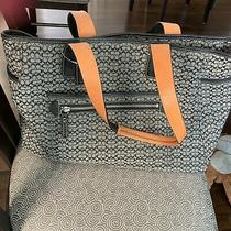 Coach Diaper Bag Carry All Tote Signature Small C Photo