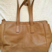 Coach Diaper Bag Tan Brown Tote Leather 5098 Photo