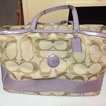 Coach Diaper Bag/tote/purse Used Authentic Euc Photo