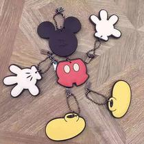 Coach Disney Mickey Limited Edition Bag Purse Charm Hangtag Keychain Set of 4 Photo