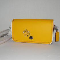 Coach Disney Penny Mickey Mouse Crossbody Banana F59374 Photo