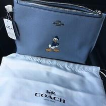 Coach  Disney X Donald Duck  Wristlet /clutch Nwt Photo