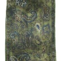 Coach Double Sided Jacobean Velvet Silk/rayon Scarf Made in Italy Photo