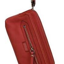 Coach Double Zip Wallet Wristlet Photo
