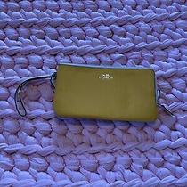 Coach Double Zip Wallet Wristlet Large Photo