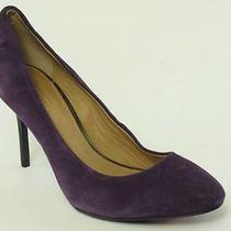 Coach Dress Purple Heel Womens Size 7.5 M New 168 Photo