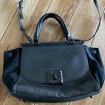 Coach Drifta Carryall Handbag - Black Leather/suede Tote Crossbody Photo