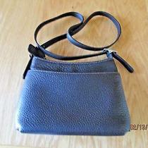 Coach E9p-6807 Dark Brown Pebbled Leather Shoulder Handbag Photo