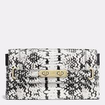 Coach Exotic Embossepython Colorblock Swagger Wallet 53888 (Original Price 295) Photo
