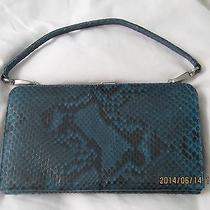Coach Exotics Collection Python Clutch Purse Photo