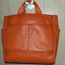 Coach Extra Large Leather Bleecker Travel Overnight Computer Handbag 70721 Photo