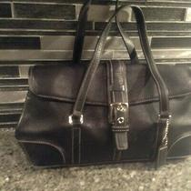 Coach F0878-F12606 Purse Shoulder Bag  Crossbody Bag Medium-Large Leather Black Photo