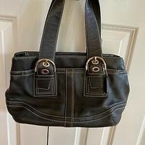 Coach F10911 Leather Soho Messenger Tote Bag Handbag Purse Photo