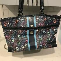 Coach F15160 Xl Chelsea Voyager Signature Crossbody Travel Carryall Tote Photo