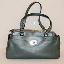 Coach F16529 Grey Leather Penelope Satchel Purse Bag Nwt Photo