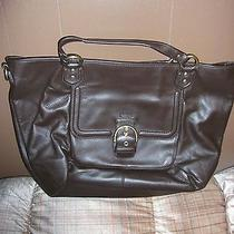 Coach F24683 Brown Campbell  Satchel Leather Handbag  Photo