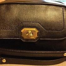 Coach F24843 Campbell Black Leather Camera or Shoulder Bag Nwot Photo