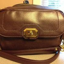 Coach F24843 Campbell Plum Leather Camera or Shoulder Bag Nwot Photo