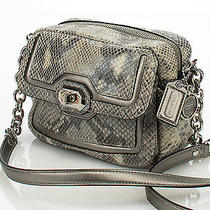 Coach  F24849 Campbell Exotic Leather Satchel Purse Photo