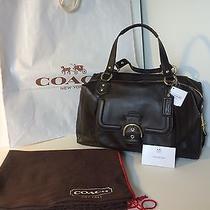 Coach F25151 Mahogany Leather Large Campbell Convertible Satchel Handbag Nwt Photo
