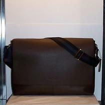 Coach F54792 Charles Messenger Briefcase Laptop Crossbody Bag Mahogany Msrp 450 Photo