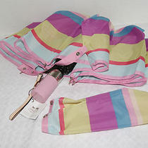 Coach F62331 Resort Stripe Umbrella Nwt Photo