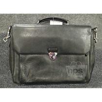 Coach F71899 Mens Sport Calf Metropolitan 595.00 Black Leather Briefcase Photo