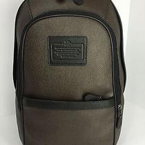 Coach F71995 Backpack Laptop Carry on Men's Printed Coated Canvas Espresso Nwt Photo
