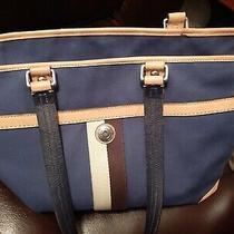 Coach F77128 Large Authentic Canvas Tote Bag. Photo