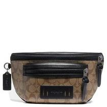 Coach Fanny Pack Terrain Belt Bag in Signature Canvas Nwt 298 Sold Out Photo