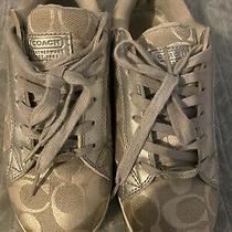 Coach Fashion Sneakers Silver 8.5 Photo