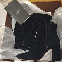 Coach Felicia Suede Black Boots Size 7.5m Photo