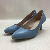 Coach Fg2967  24.5cm  Blue Size 24.5cm Blue Fashion Heels 577 From Japan Photo