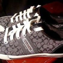 Coach..fillmore..black..signature..sneakers..women Sz 6.5 Photo
