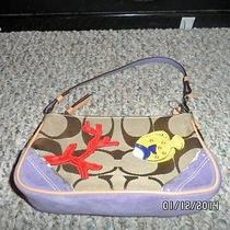 Coach Fish Coral Handbag                         Photo