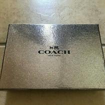 Coach Flask Bottle Opener Key Ring Gift Box Set Photo