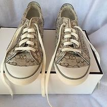 Coach  Flats Silver in Box Photo