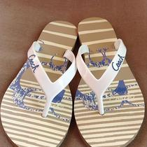 Coach Flip Flops Size 7 Photo