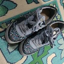 Coach Floral Sneakers Sz 5 Photo
