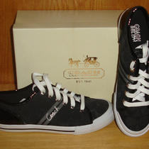 Coach Folly Black Sneakers Size 6 - Women's - New Photo