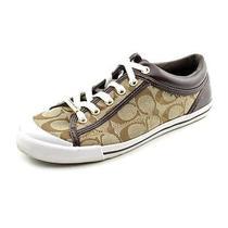 Coach Francesca Women Us 9 Brown Sneakers Photo